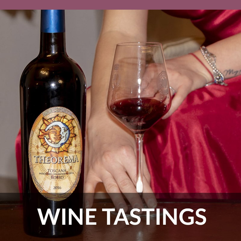 Tastings of Carmignani wines