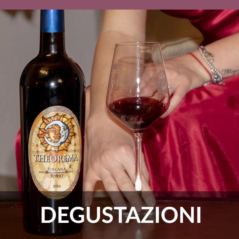 Le degustazioni dei vini Carmignani
